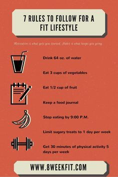 7 Simple Rules to Follow for a Fit Lifestyle