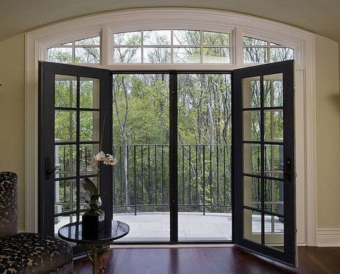 Make Your Doors Look Expensive On Budget With Images French Doors With Screens