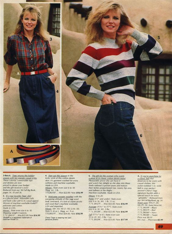 1985 Women 39 S Clothing Fashion Fashion In The 1980s