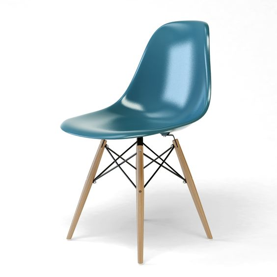 Charles eames dsw sapin ocean chaise eames dsr vert for Chaise dsw moutarde