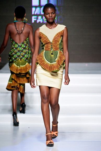 Adelia e Sheila Tique @ Mozambique Fashion Week 2013 - Day 2 | FashionGHANA.com #ItsAllAboutAfricanFashion