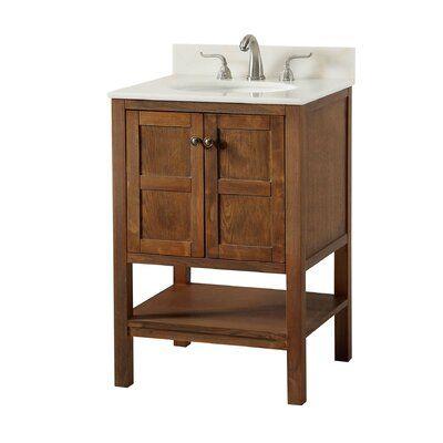 Andover Mills Waithman 24 Single Bathroom Vanity Set Single Bathroom Vanity 24 Inch Bathroom Vanity Bathroom Vanity Organizing newly painted bathroom vanity