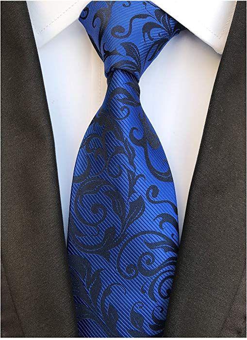 Fashion Ties for Men Boys Slim Novelty Paisley Necktie Wedding Ties Party Tie