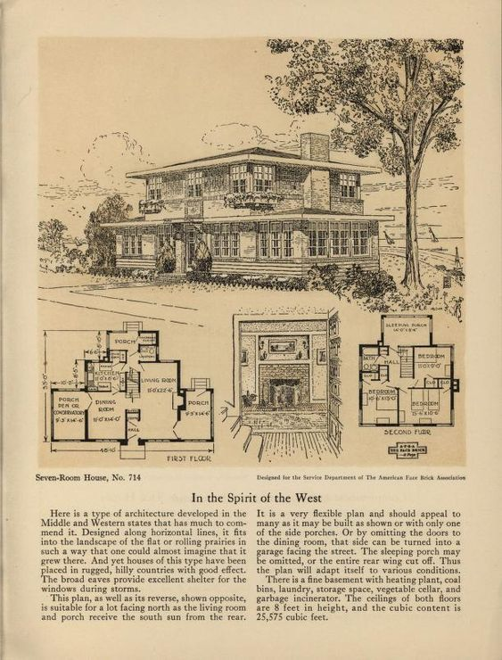 Seven  eight room face brick bungalow and small house plans    Seven  eight room face brick bungalow and small house plans   American Face Brick Association   Free Download  amp  Streaming   Internet Archive