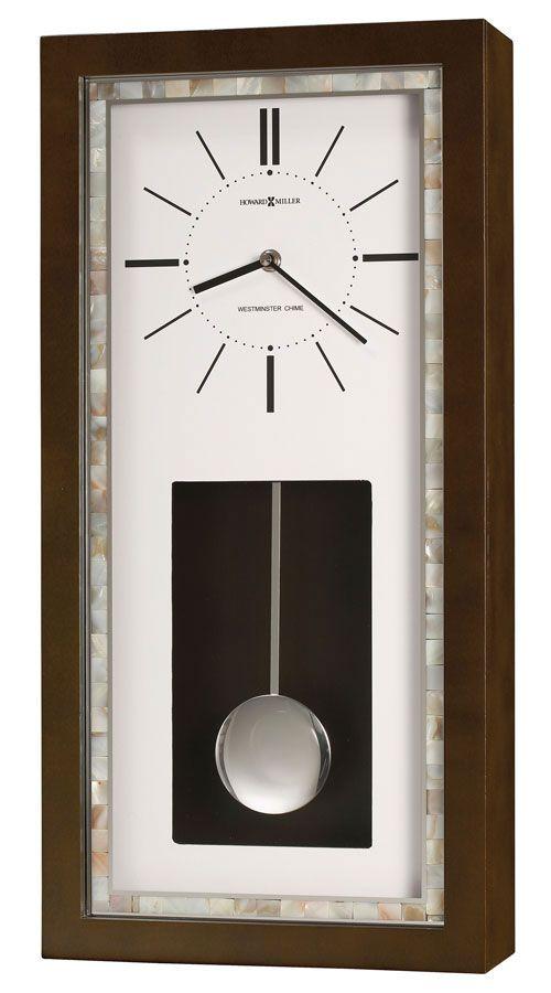 625595 Reese Contemporary Wall Clock Howard Miller Wall Clock Chiming Wall Clocks Wall Clock
