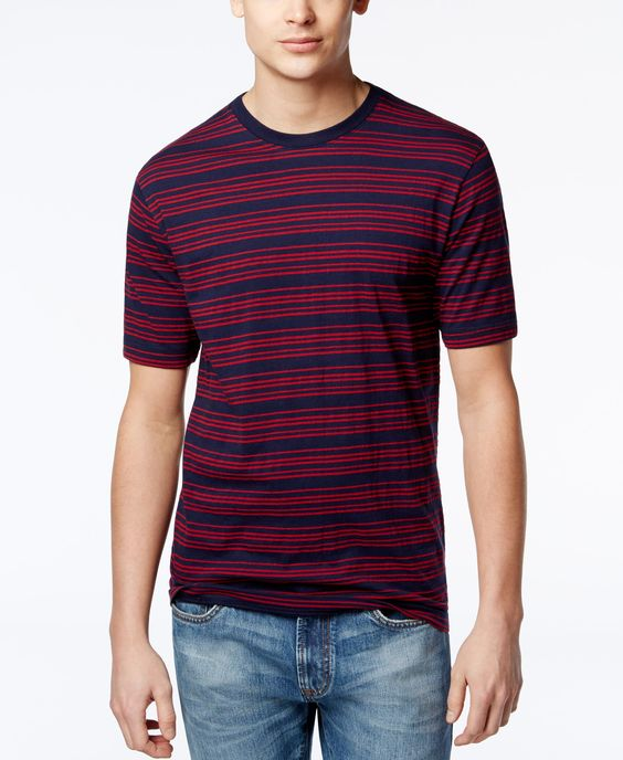 Club Room Men's Gables Striped T-Shirt, Only at Macy's