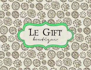 RACHEL MIELLE: Le Gift Boutique..lindas lembranças personalizadas...