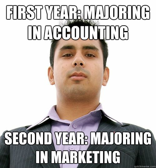 If I am very bad at math should I major in accounting or marketing?