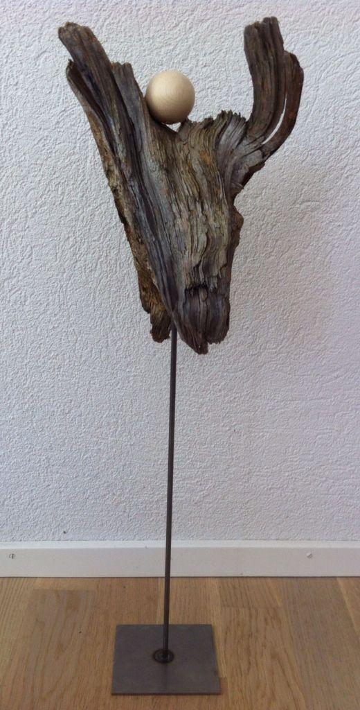 Treibholz engel drewno pinterest for Engel basteln holz