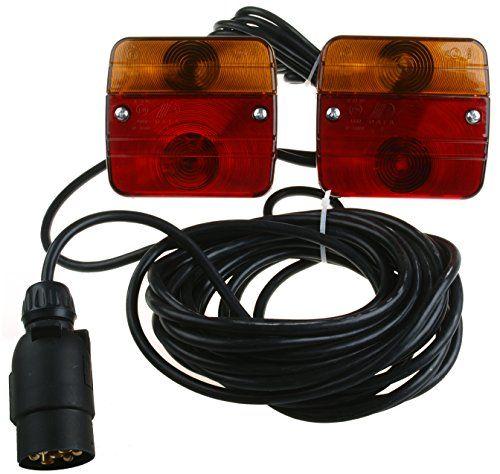 Ruckleuchten Verkabelt Fur Anhanger Anhangerbeleuchtung 2 X Blink Brems Schlussleuchte Mit Einseitiger Integrierter Anhanger Beleuchtung Pkw Anhanger Caravan