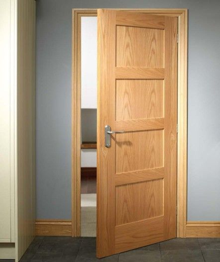 Panel doors 4 panel doors and internal doors on pinterest for 1950s front door styles