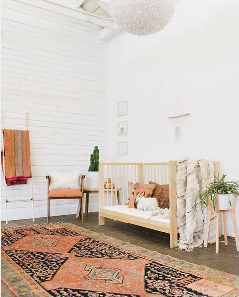 Bohemian Style Baby Nursery: Kids' Rooms On Instagram (the Boo And The Boy)