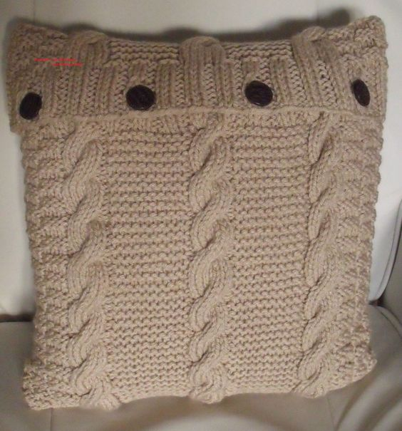 Knitted Infinity Scarves Patterns : Cable, Knitting and Cushions on Pinterest