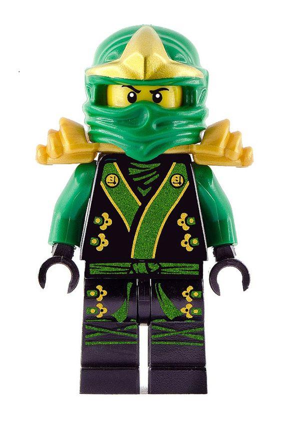 LEGO Black Ninja Lego Ninjago Green Kimono Lloyd BIG