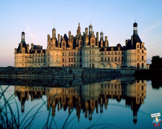 Castello della Loira, regione della Francia
