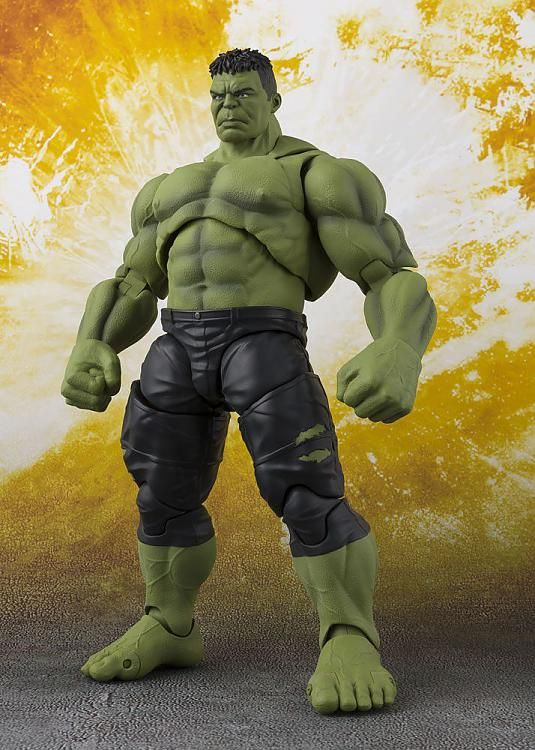 Anime S.H.Figuarts Marvel Avengers Infinity War Hulk Action Figure New Boxed