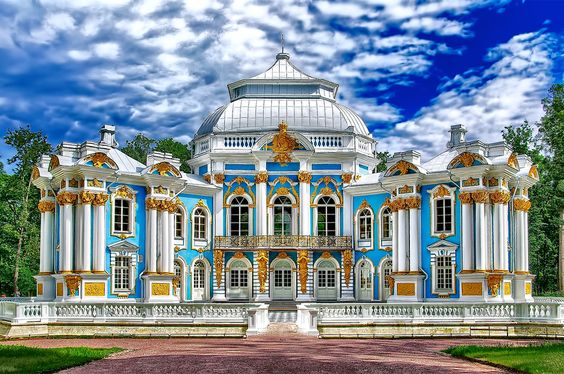 Tsarskoe Selo, Catharine the Great's Summer Palace