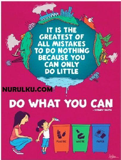 Gambar Poster Lingkungan Terbaik Dan Lucu Untuk Menyadarkan