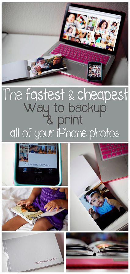 Easy and cheap way to backup & print all of your iPhone photos. Comparisons of different programs and examples for a no-fuss process. Do something with those thousands of photos you have saved and make room for more!