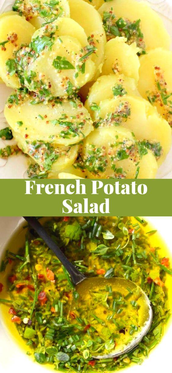 Easy French Potato Salad