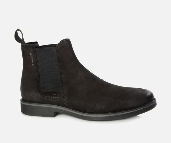 vagabond belgrano chelsea boot for men in suede and. Black Bedroom Furniture Sets. Home Design Ideas