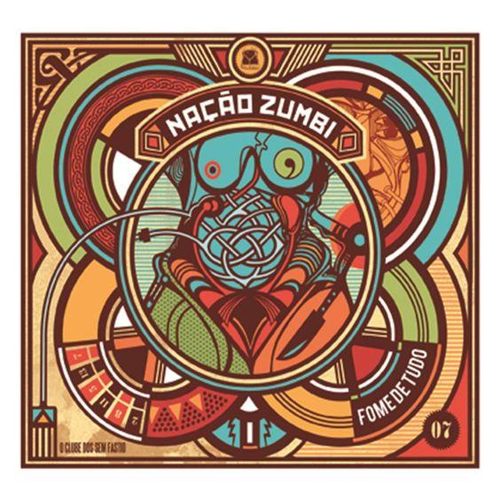"""Capa do álbum """"Fome de tudo"""", do Nação Zumbi"""""""