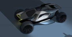 2015 | Batmobile | Design by Christoph Prößler (Land Rover Advanced Design Team) | Source