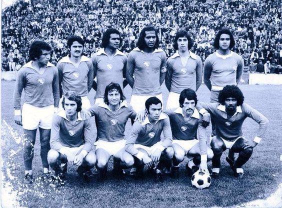 Gil Vicente 1973/74. Celton, 3º da dta para a esqº em cima. Marconi e Sá pereira, 1º e 2º em baixo, da dta para a esqº