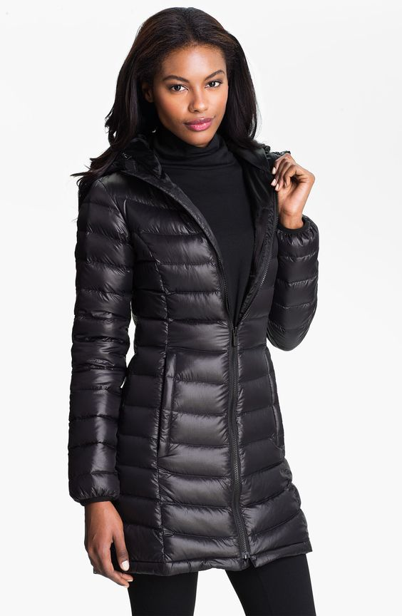 North Face Down Parka Women | The North Face 'Jenae' Hooded Down ...