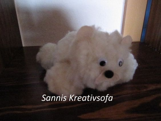 Rufus der kleine Eisbär