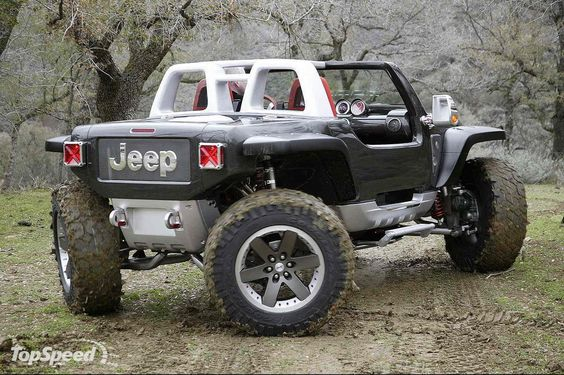 Jeep Hurricane the future of off-roading ... Love!