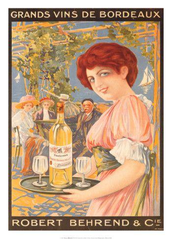 Grands Vins De Bordeaux Print at AllPosters.com