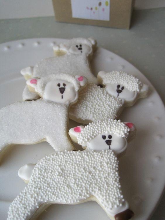 lamb sugar cookies: