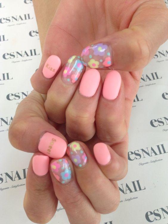 Nail Art - Nail Salon blog ~ AmebaGG daily es nail ... | images of tie-dyed stripe nail ♪ ×: