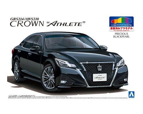 TOYOTA GRS214/AWS210 CROWN ATHLETEu002715 (PRECIOUS BLACK  PEARL)|AOSHIMA|English | Aoshima | Pinterest | Athlete And Toyota