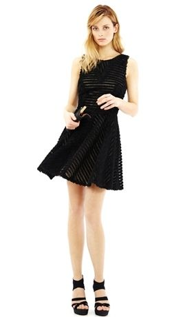 Textured little black dress LBD! What to wear to an evening ...