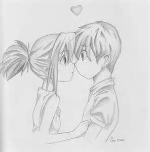 Cute Anime Couple Drawing Ideas Www Picturesso Com