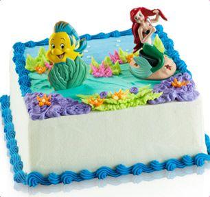 Ariel Birthday Cake Baskin Robbins