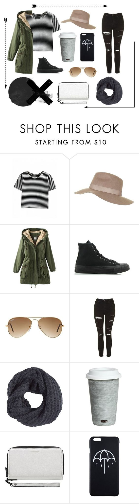 """☁️"" by ann-molly ❤ liked on Polyvore featuring Topshop, Converse, Ray-Ban, Pistil, Fitz and Floyd and Witchery"