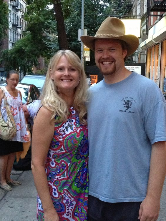 Heidi Williamson from the Development office caught Matt Van Orden '08  on August 18 Fringe  NYC production of  'Cowboys Don't Sing.' Thumbs up for VO's acting!