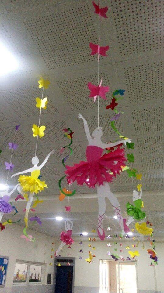 Ide Kreatif Dekorasi Sekolah Dengan Nuansa Bunga Di 2020 Kids