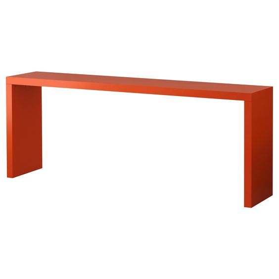 Malm occasional table orange ikea i want this more than anything it rolls over - Occasional tables ikea ...