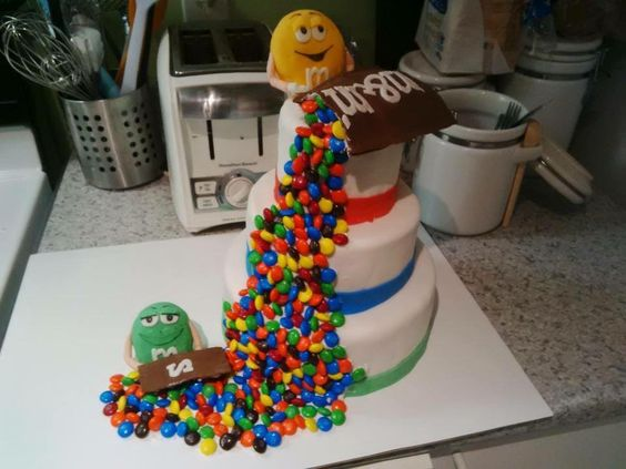 Gâteau m&m's :)