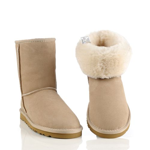 Discount Sale UGG 5825 Classic Short Winter Boots Sand