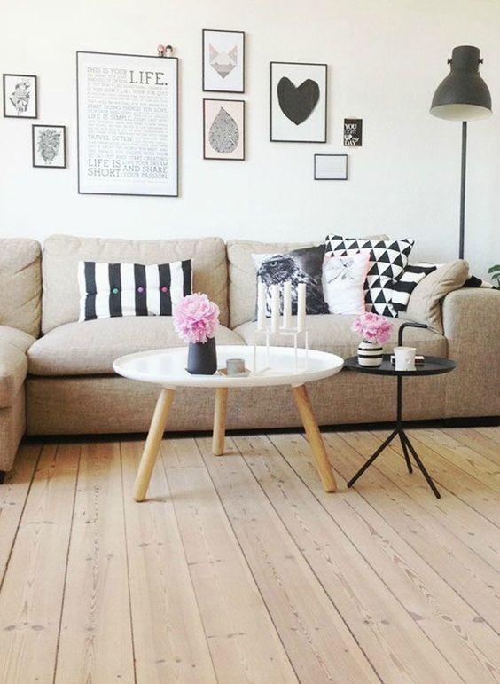 Cores neutras, estilo básico, minimalista e moderno com uma pitadinha de cor e de simplicidade para aquecer o ambiente. Assim é o estilo escandinavo!: