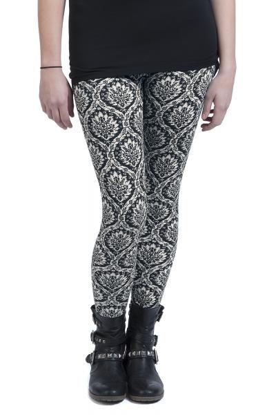 Leggings Black Premium by EMP Exclusivo en EMP Online España • Tienda Rock •Heavy • Metal • Gótica y Alternativa #BlackPremium #RockStyle #Fashion #Moda