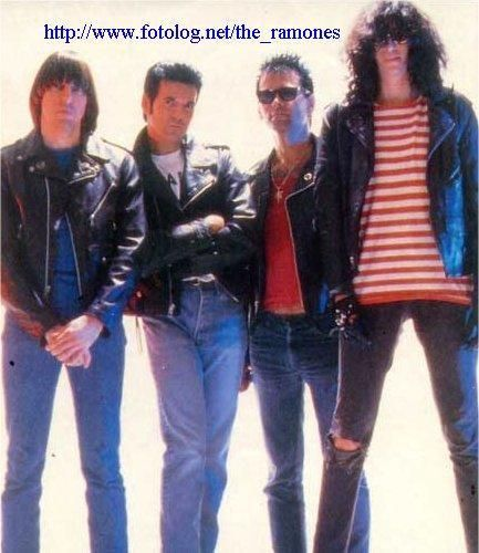 Blondie's drummer, Clem Burke, gets his shot as Elvis Ramone, replacing Richie and before Marky comes back
