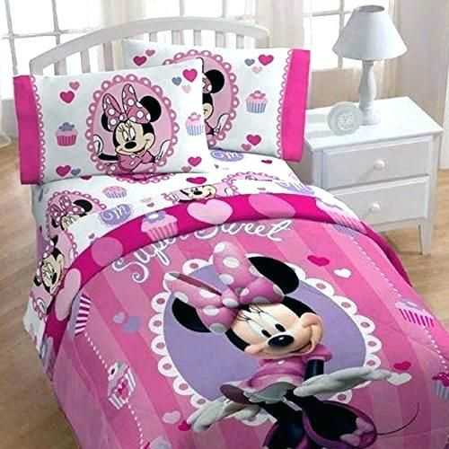 Minnie Maus Blatter Dekoration Ideen Minnie Mouse Bedroom Girls Comforter Sets Twin Bed Sets