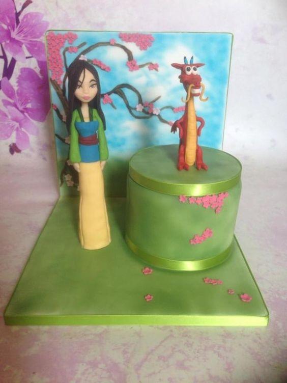 Cake Decorating Bagshot : Mulan cake Cakes & Cake Decorating ~ Daily Inspiration ...