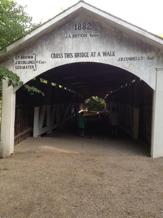 Covered Bridge - Turkey Run State Park